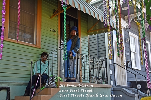 Queen of Mardi Gras Tree Need a quickie- Drop into New Orleans for 48 hours www.diningwithmimi.com