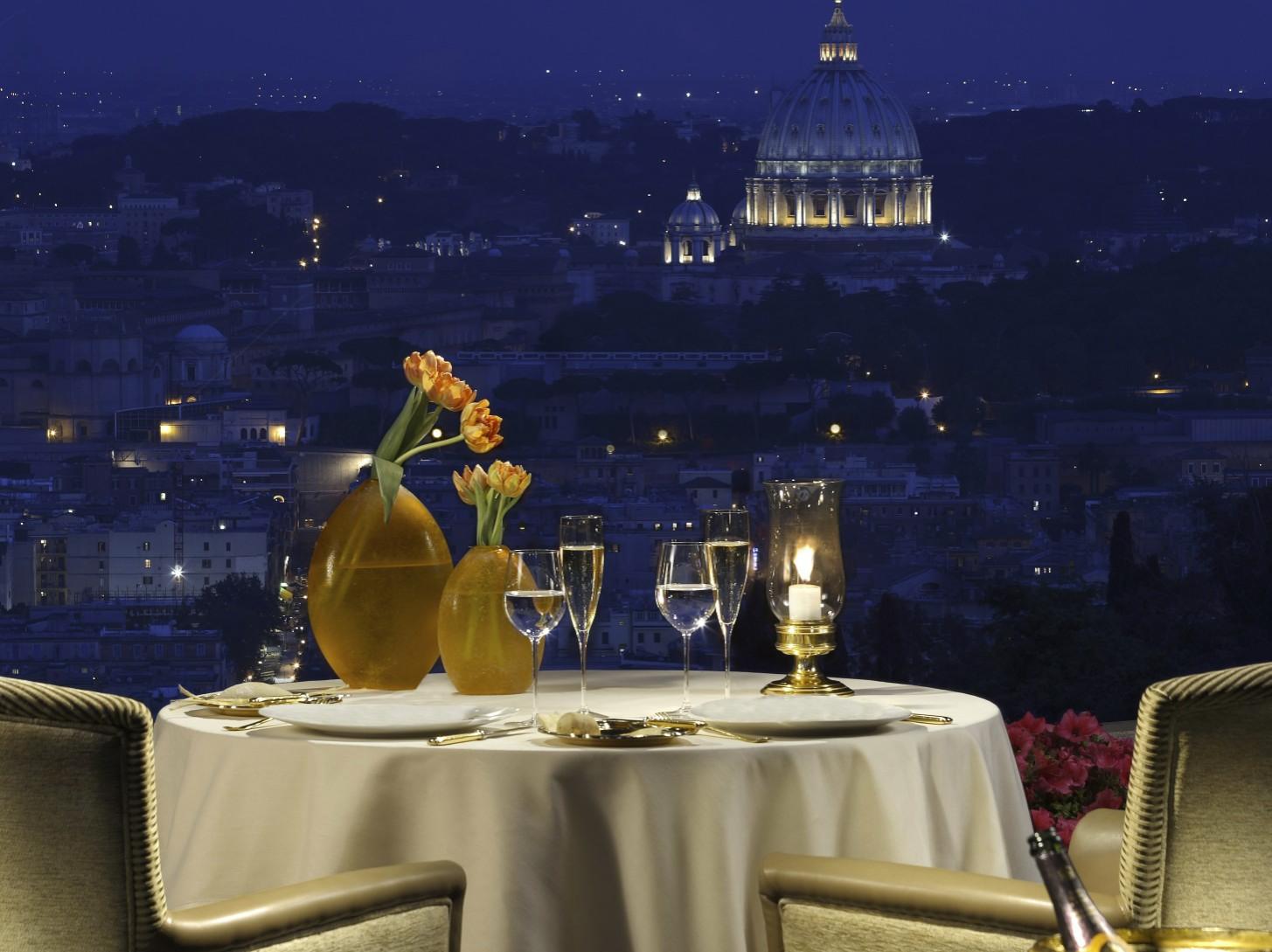 La Pergola Rome  Dining Without Borders