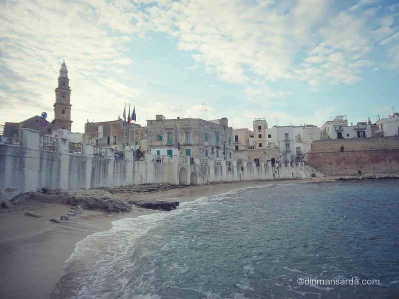 Monopoli, plaja orasului - Cala Porta Vecchia