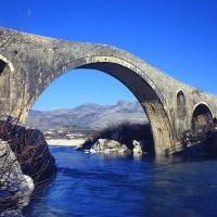 Podul cu trei arce, o bucatica din istoria zbuciumata a Balcanilor