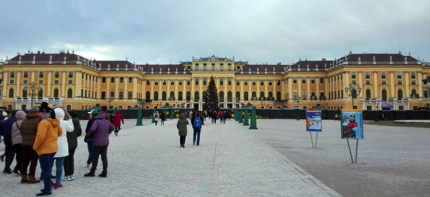 Schönbrunn – un palat mare