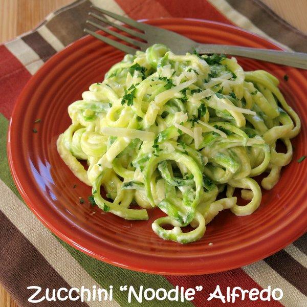 Image result for zucchini alfredo