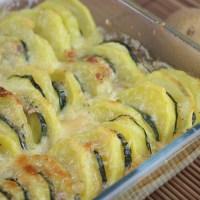 Kartoffelgratin mit Zucchini nach Johann Lafer