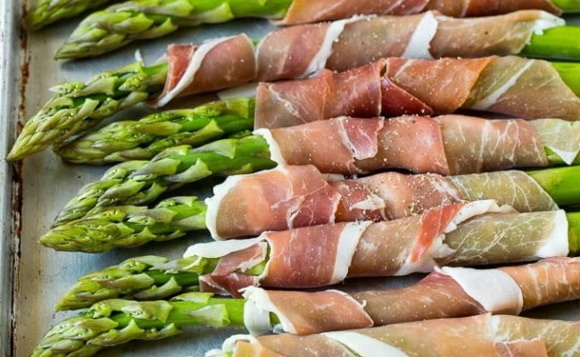 Prosciutto Wrapped Asparagus Dinner At The Zoo