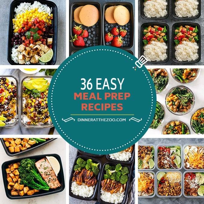 36 easy meal prep