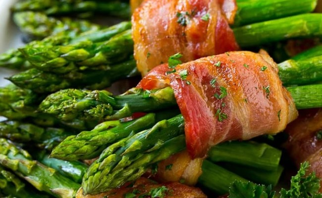 Bacon Wrapped Asparagus Dinner At The Zoo