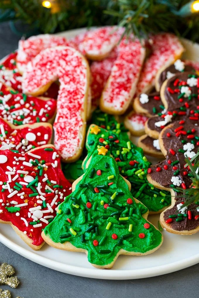 5+ Christmas Cookies Sugar
