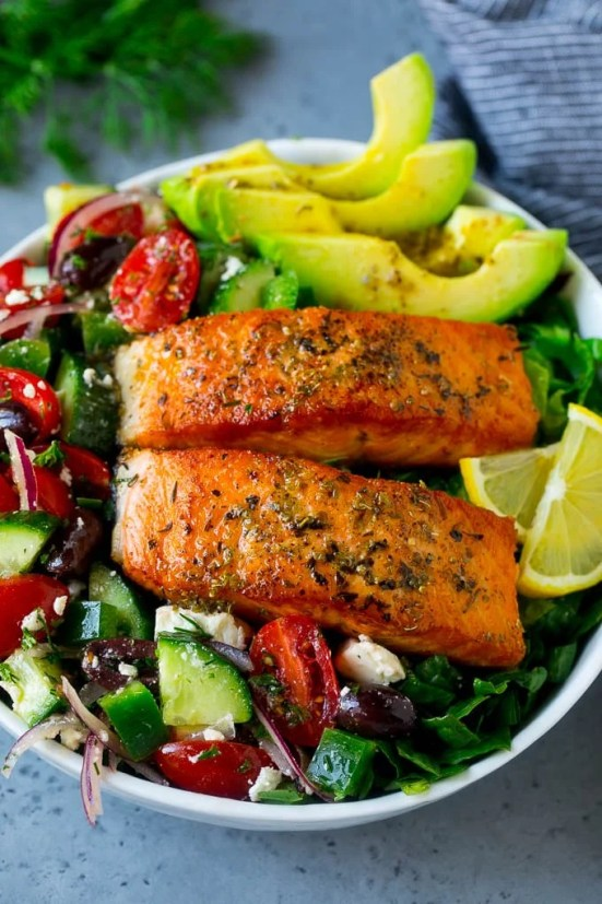 Image result for Salmon Salad