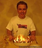 Dinner from hell for Gregg Rottler