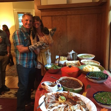 Valerie and Creg at Thanksgiving