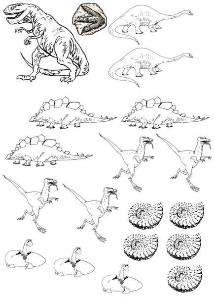 dinosaur printables for party
