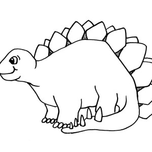 cartoon dinosaur coloring pages kids