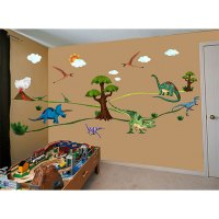 Dinosaur Wall Decals for Kids   Dinosaurs Pictures and Facts