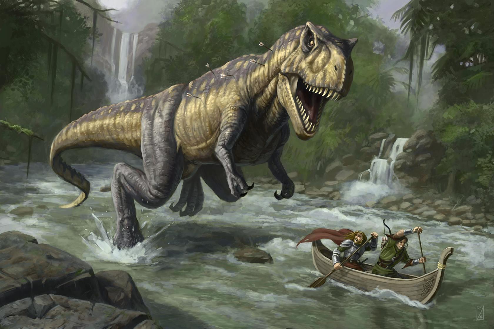 T Rex Dinosaurs History