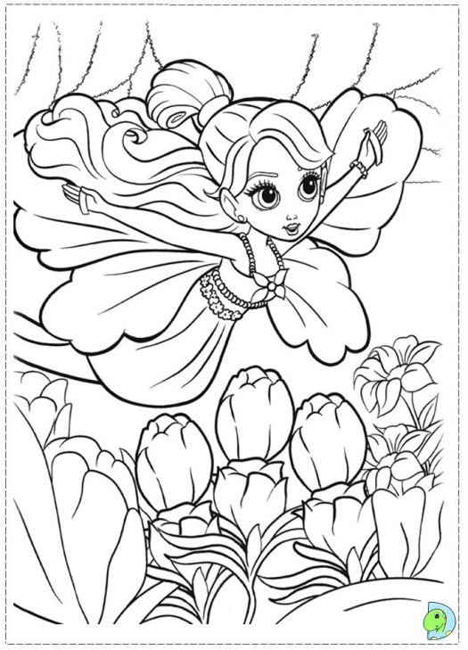 barbie thumbelina coloring pages coloring page cartoon