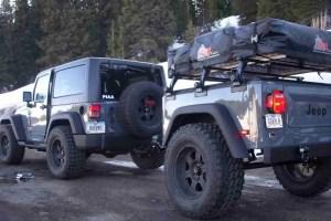 Dinoot Jeep Trailers Jeep Trailer Dinoot J-Series Customer Build - Bill