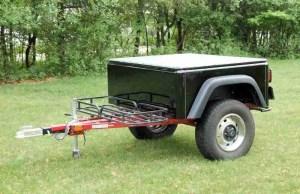 Dinoot Jeep Trailers Jeep Style Dinoot Fiberglass Lightweight Tub Kit Customer Build at home