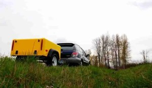 Jeep Trailer Micro with Subaru