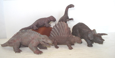 Image result for images of marx toy dinosaur