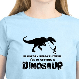women's dinosaur shirt