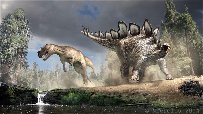 stegosaurus paleoart bob nicholls