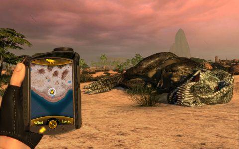 dinosaur hunting game