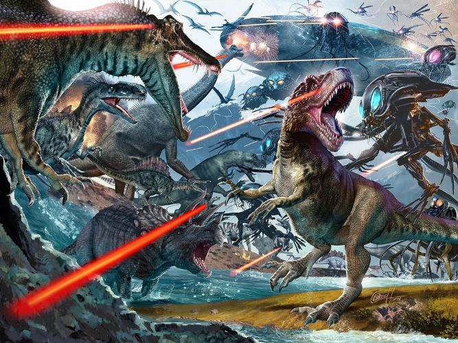dinosaur comic book