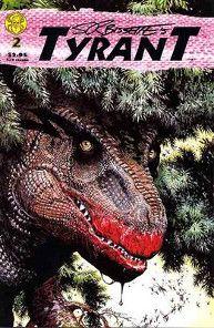 tyrant tyrannosaurus rex comic