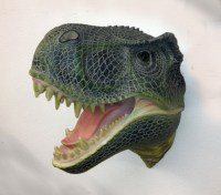 T-Rex Head Wall Mount | The Dinosaur Farm