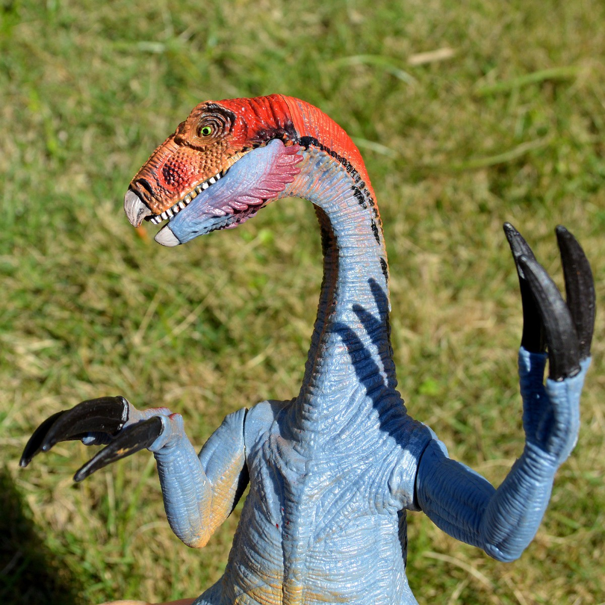 Large Therizinosaurus Model Birthday Gift For Kids Realistic Dinosaur Figure Toy