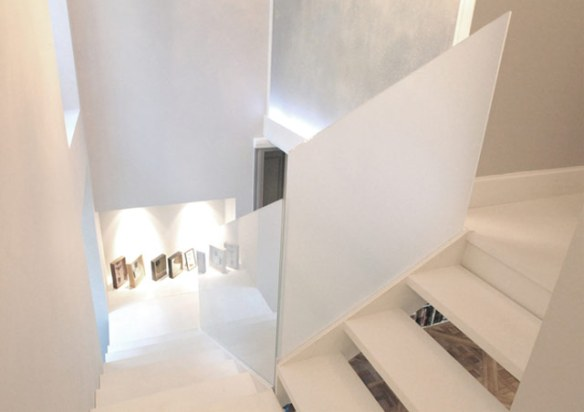 decoración escalera