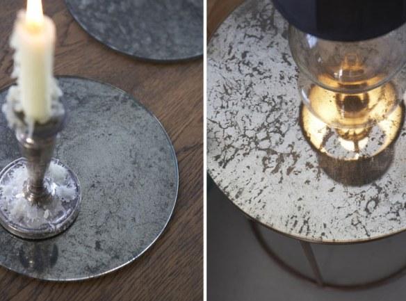decoración industrial metal