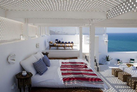 Decoración terraza estilo mediterráneo
