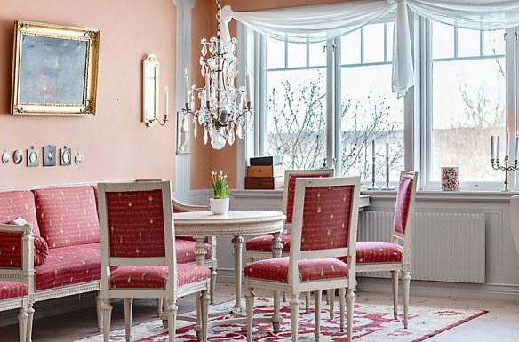 decoración comedor elegante clásico