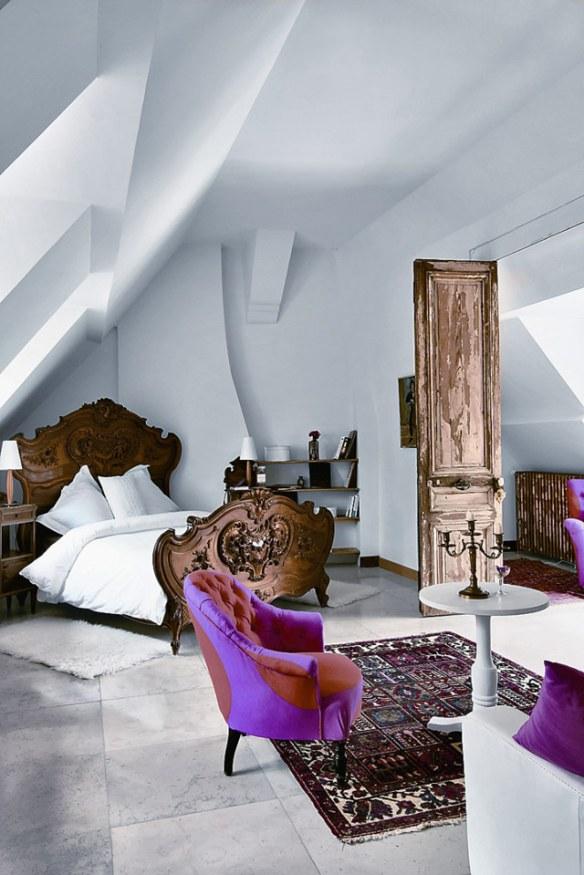 decoración dormitorio elegante estilo clásico y moderno