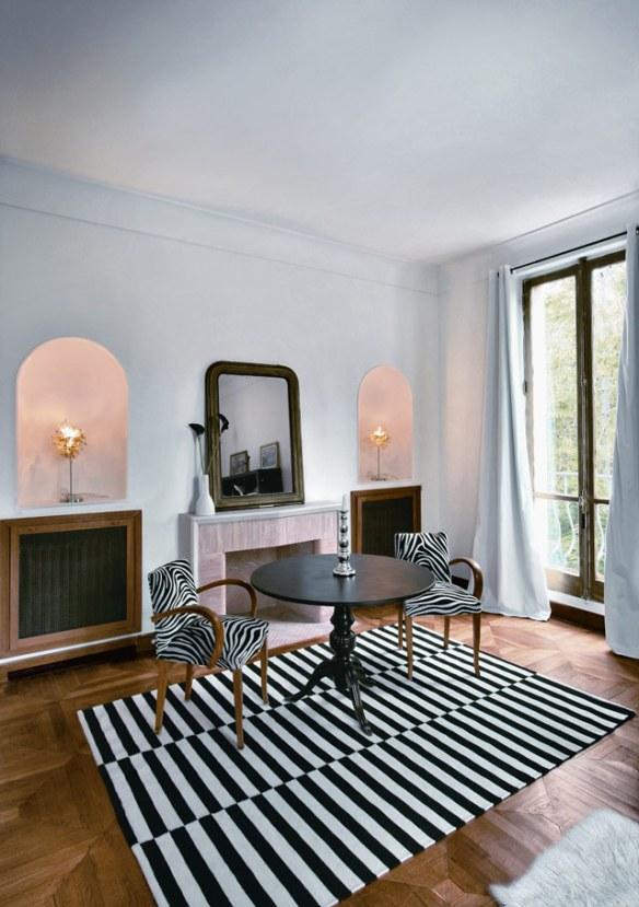decoración elegante estilo clásico y moderno