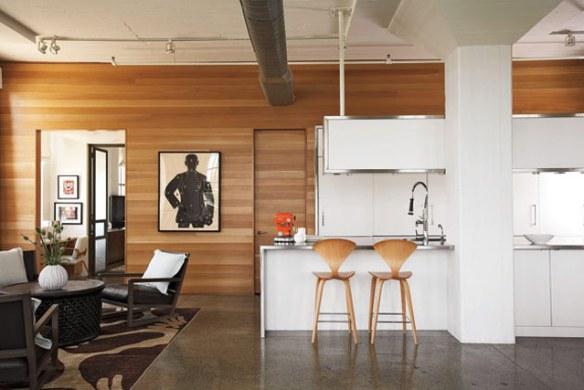 Loft decoración estilo industrial