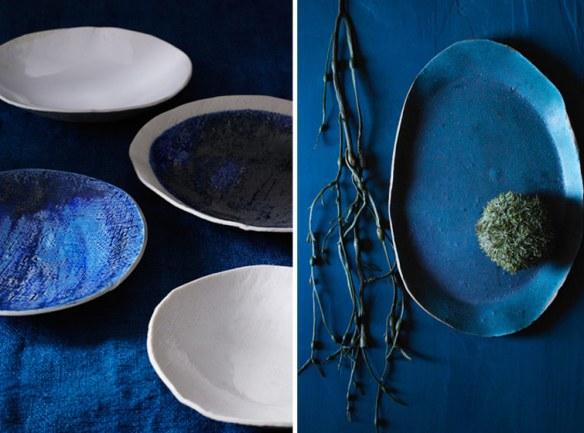 platos y bandejas hechos a mano