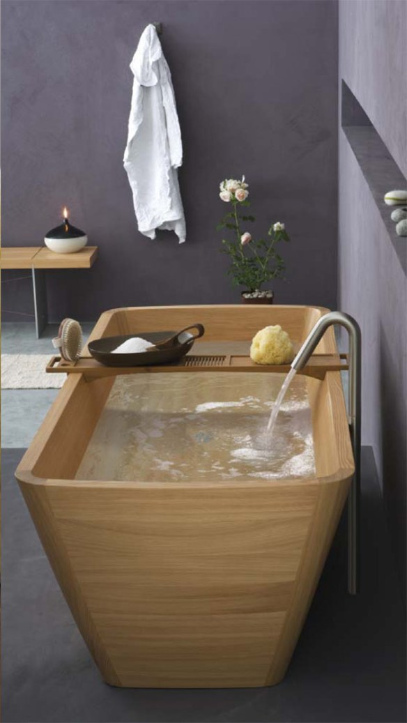 bañera diseño italiano