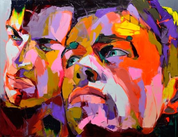 pintura expresiva arte moderno