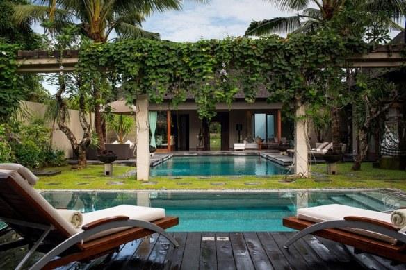 Exótica Villa en Bali decoración estilo étnico