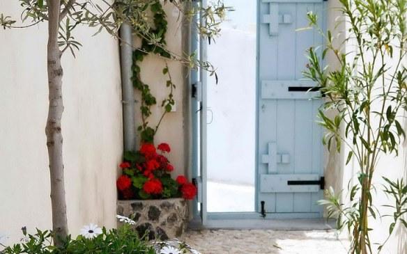 Villa estilo mediterráneo islas griegas