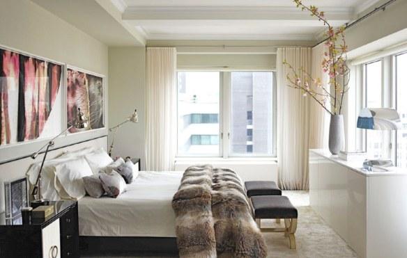 dormitorio con glamour