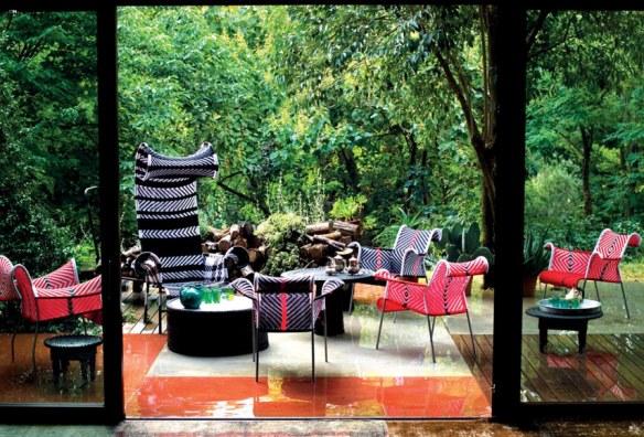 Mobiliario de terraza y jardín