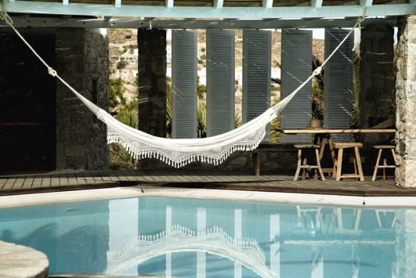 piscina en grecia