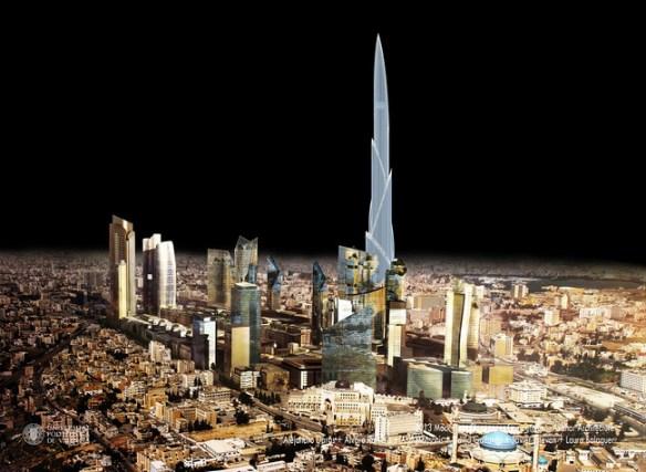 Rascacielos en Amma - Azahar Architecture