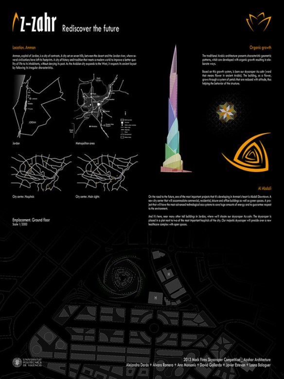 Rascacielos en Amma - Azahar Architecture - Panel 1