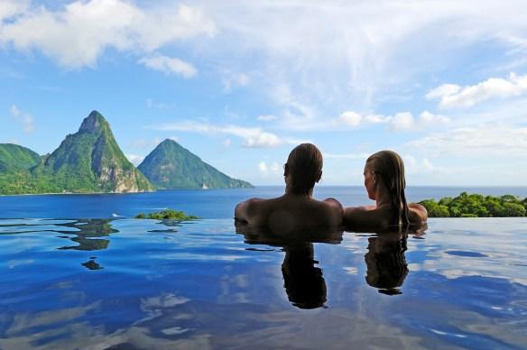Infinity Pool_Jade Mountain Resort St Lucia