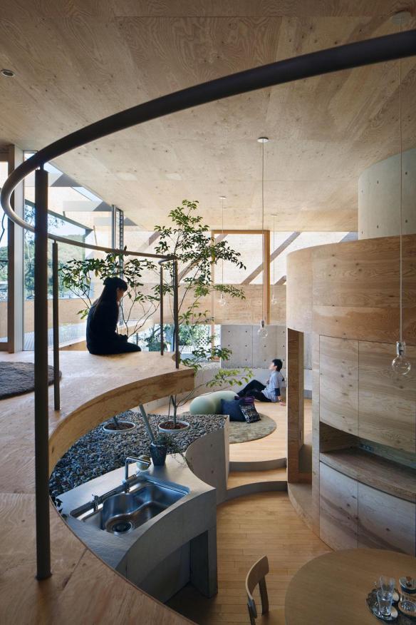 Pin house interior 1
