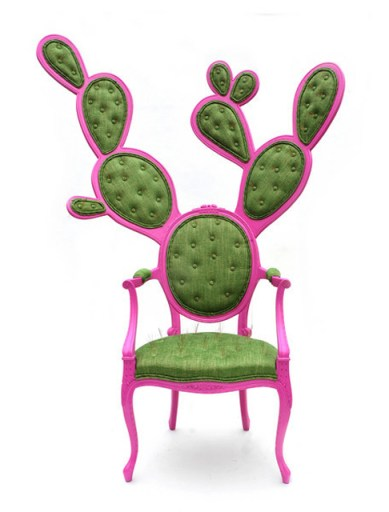 Prickly Pair Chair Gents frontal
